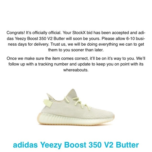 Selling yeezy butter v2 for $320 NWT